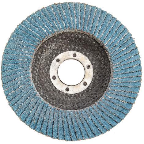 Discos de aletas abrasivas Respaldo de fibra de vidrio 115 mm de grano 60 Sasicare