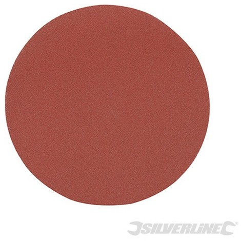 Discos de lija autoadherentes 125 mm 10 piezas-125 mm grano 60