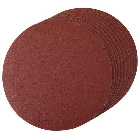 Discos de lija autoadherentes 180 mm, 10 pzas 180 mm, grano 120 - NEOFERR..
