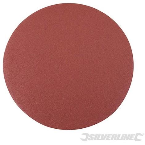 Discos de lija autoadherentes 250 mm. 10 pzas (250 mm. grano 60)