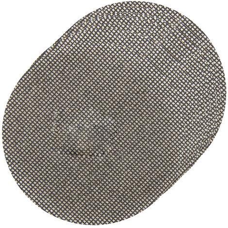 Discos de lija autoadherentes con malla abrasiva 115 mm, 10 pzas 4 x grano 40, 4 x grano 80, 2 x grano 120
