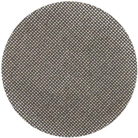 Discos de lija autoadherentes con malla abrasiva 115 mm, 10 pzas Grano 80