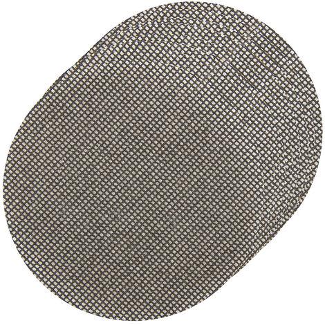 Discos de lija autoadherentes con malla abrasiva 125 mm, 10 pzas 4 x grano 40, 4 x grano 80, 2 x grano 120 - NEOFERR
