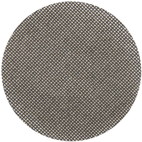 Discos de lija autoadherentes con malla abrasiva 125 mm, 10 pzas 80 Grit