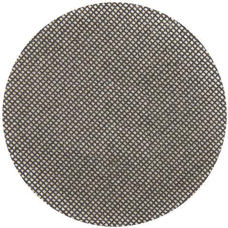 Discos de lija autoadherentes con malla abrasiva 125 mm, 10 pzas 80 Grit - NEOFERR
