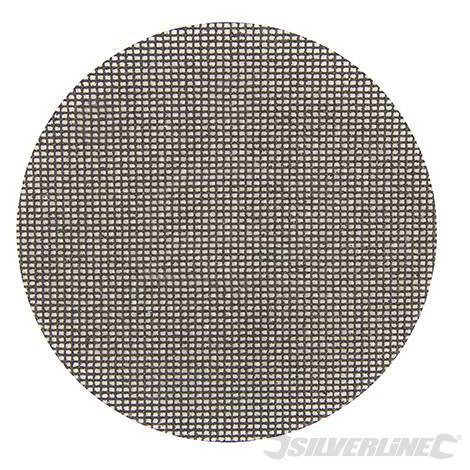 Discos de lija autoadherentes con malla abrasiva 225 mm, 10 pzas