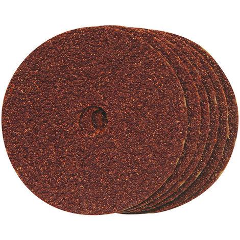 Discos de lija de fibra 100 x 16 mm, 10 pzas Grano 60, 100 mm - NEOFERR