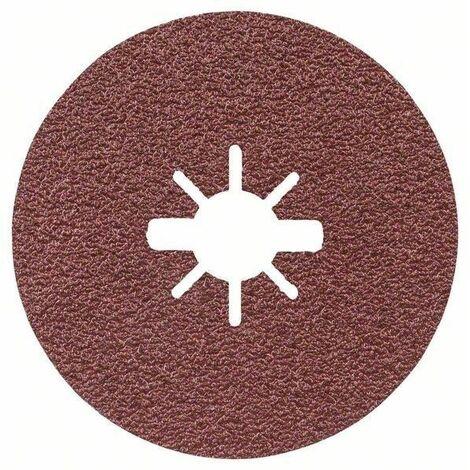 Discos de lija de fibra X-LOCK, Ø de 125 mm, G 80, R444, Expert for Metal, 1 pieza BOSCH 2608619174