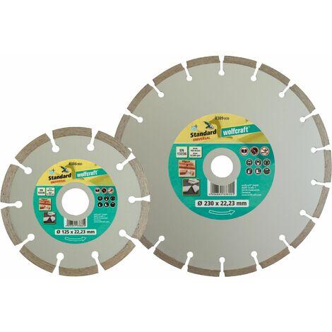 """main image of """"Discos diamantados de corte Standard Universal para amoladora angular Ø 230 x 22,2 mm"""""""