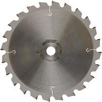 Discos para tronzadora e ingletadora Cortes rápidos y finos Wolfcraft 205 x 18 mm 24 dientes