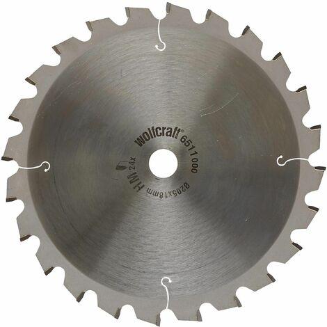 Discos para tronzadora e ingletadora Cortes rápidos y finos Wolfcraft 250 x 30 mm 24 dientes