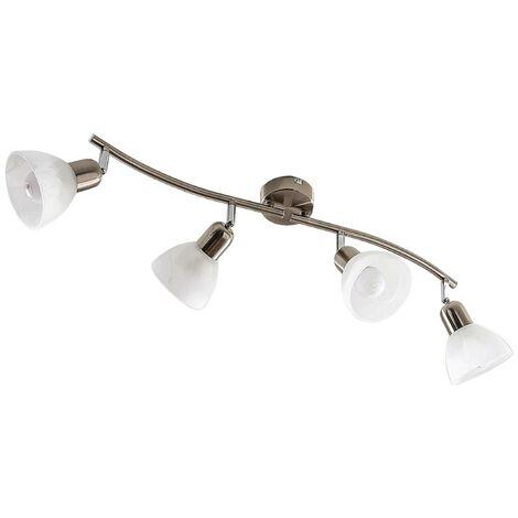 Discreta lámpara LED de techo Paulina, 4 brazos
