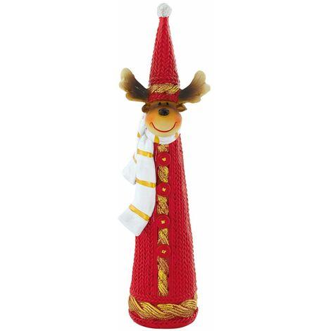 Diseño de pie figura el cuadro de Navidad renos decoración tapa de Adviento X-MAS colorido Eglo 41266