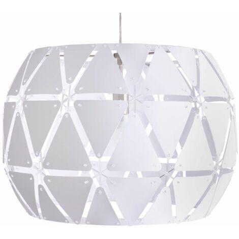Diseño lámpara colgante triángulo salón lámpara colgante blanco enchufe focos de techo Philips 4091731