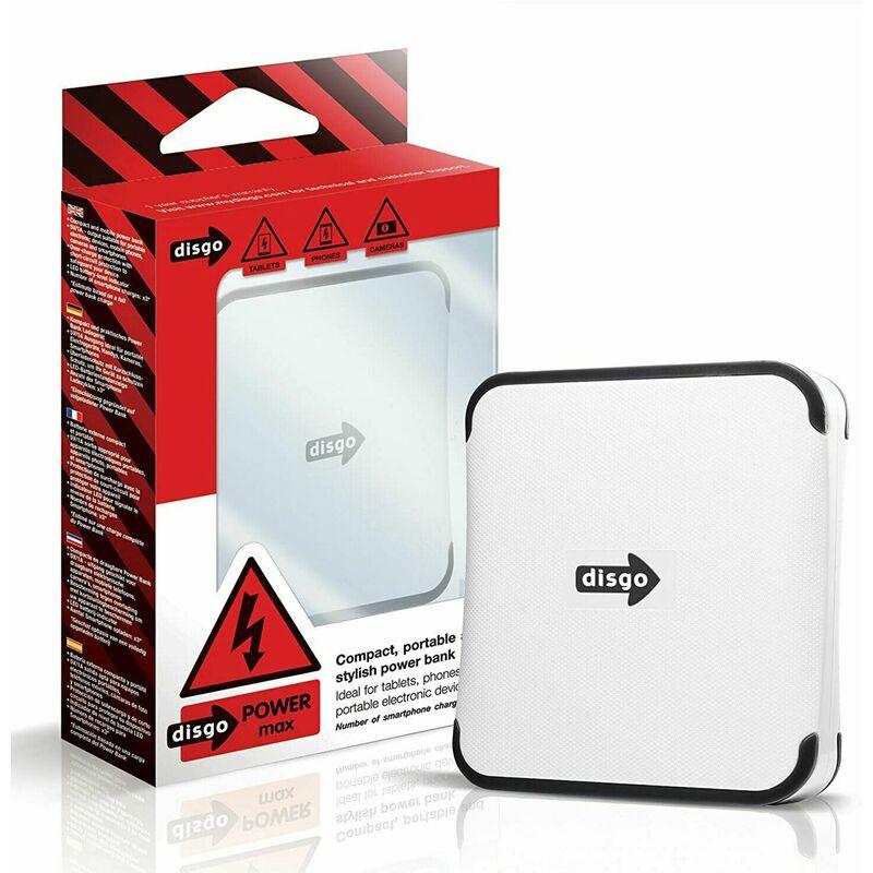 Image of 69973 Power Max 6600mAh Portable Power Bank, 1pk - Disgo