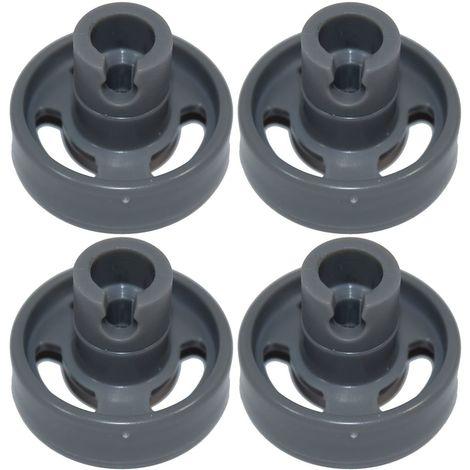 Dishwasher Lower Basket Wheel Stoves Belling Baumatic x 4