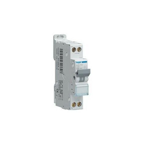 Disjoncteur 1P+N 4.5/6kA C-16A 1M (MJT716)