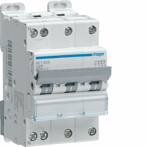 Siemens 5sl6320 7/miniature Disjoncteur 6/KA 3/Pole C-20/a