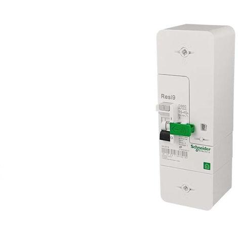 Disjoncteur branchement Resi9 DB60 1P+N - 15/30/45A 500mA - Sélectif - Schneider Electric