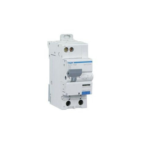 Disjoncteur différentiel 230V - Hager - de 10 à 32A - type AC/HPI - 30mA Courbe C - HAGER