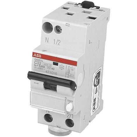 Disjoncteur Différentiel 32A / 30mA ABB