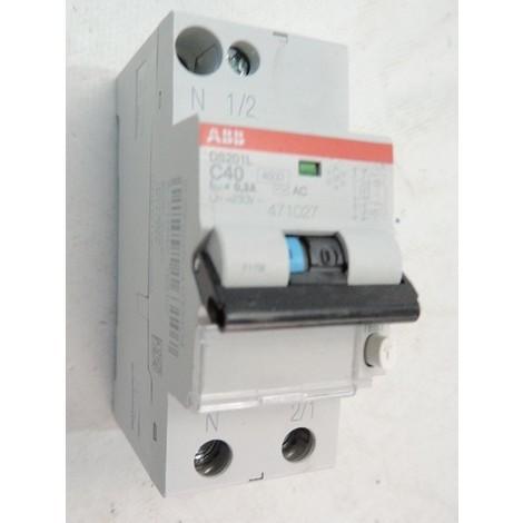 Interrupteur diff/érentiel pur 2 p/ôles 32 A 6 KA 300 mA