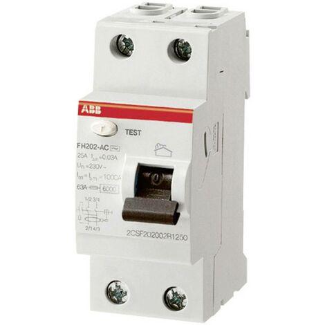 Disjoncteur différentiel ABB 25 A 1 pc(s)
