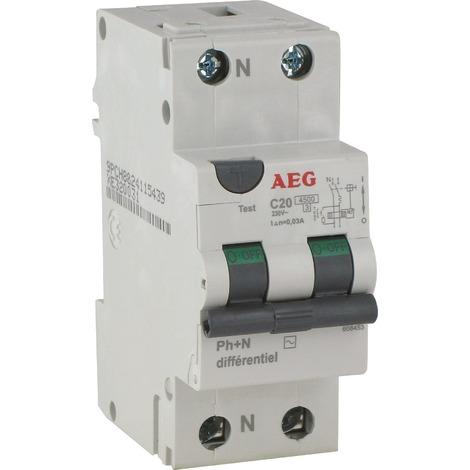 Disjoncteur différentiel AEG