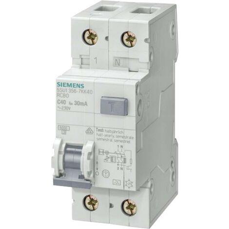 Disjoncteur différentiel/Disjoncteur de protection Siemens 5SU1356-6KK16 2 pôles 16 A 0.03 A 230 V 1 pc(s)