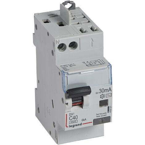 Disjoncteur différentiel DX³ 4500 - 6 kA courbe C, protection de groupe Legrand