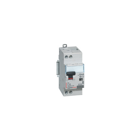 Disjoncteur différentiel DX³ 4500 - 6 kA courbe C, protection des départs Legrand