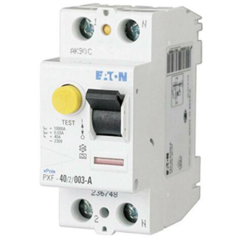 Disjoncteur différentiel Eaton 236748 2 pôles 40 A 0.03 A 230 V 1 pc(s)