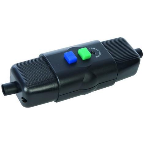 Disjoncteur différentiel en ligne pour extérieur 16 A 230 V~ 50 Hz