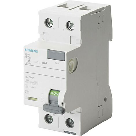 Disjoncteur différentiel Siemens 5SV3314-6KL 2 pôles 40 A 0.03 A 230 V 1 pc(s)