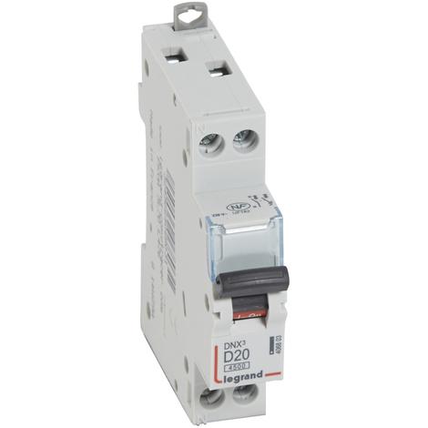 Disjoncteur DNX³ 4500 - 4,5 kA courbe C et D, protection des départs Legrand