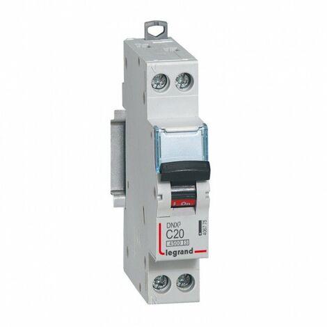 Disjoncteur DNX courbe C - Lot de 10 Disjoncteurs DNX 16A - Uni+N -230V- À Vis (406774)