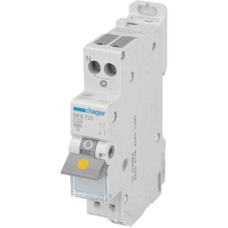 """main image of """"Disjoncteur DPN automatique C20A Hager"""""""