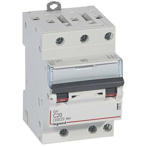 406920 LEGRAND Dx3 Disjoncteur 4P C20 4500A//6Ka Auto