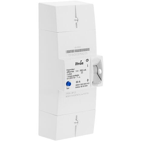 Disjoncteur EDF 60A 230V Sélectif - Itron