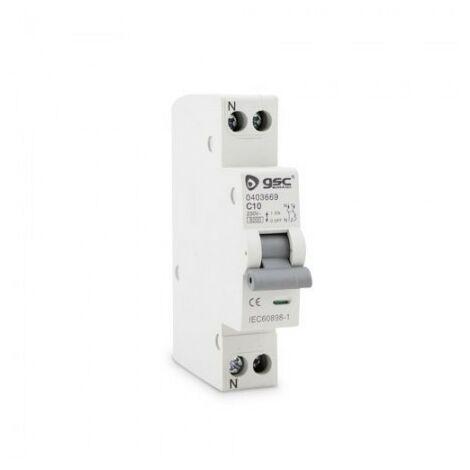 Disjoncteur étroit DPN 1P + N 10A GSC 0403669