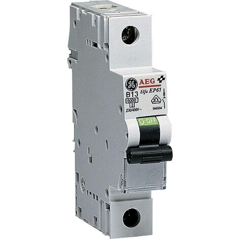 Disjoncteur General Electric EP61B13 566503 1 pôle 13 A 1 pc(s)
