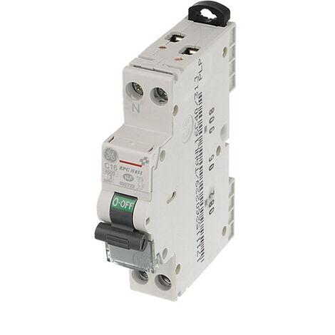 Disjoncteur General Electric UNIBIS Ph+N Courbe C 4.5kA - de 2A à 40A
