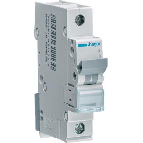 Disjoncteur Hager MCN120 MCN120 monophasé 20 A 230 V, 400 V 1 pc(s)