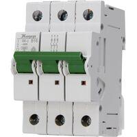 Disjoncteur Kopp 721630005 triphasé 16 A 400 V 1 pc(s)