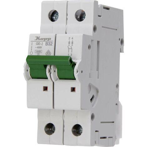 Disjoncteur Kopp 723220008 32 A 400 V 1 pc(s)