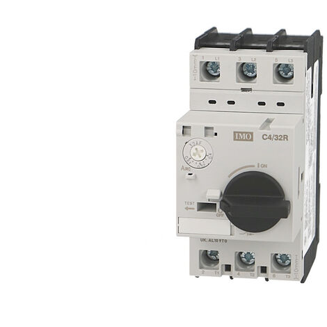 Disjoncteur magnéto thermique IMO réglable de 2,5 à 4A