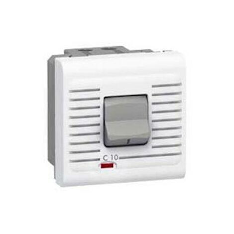 Disjoncteur magnéto-thermique Uni+Neutre - 16A - Blanc