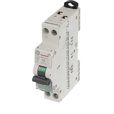 Disjoncteur modulaire phase neutre 16A - 3kA