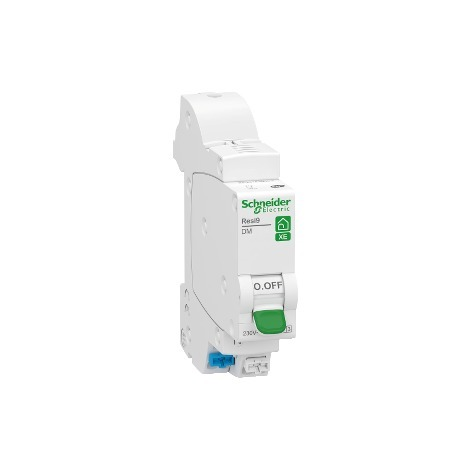 Disjoncteur modulaire Resi9 XE embrochable 1P+N - 2A - Courbe C - Schneider Electric