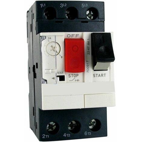 disjoncteur moteur 4-6.3a associé pour coffret panorama - dmt6.3 - ccei